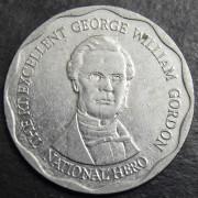 10 долларов  2008 год . Ямайка