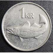 1 крона  2007 год . Исландия
