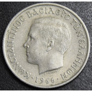 50 лепт 1966 год . Греция