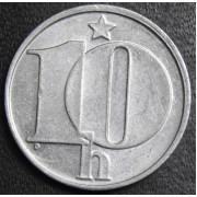 10 геллеров 1977 год . Чехия