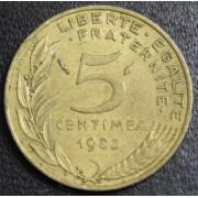 5 сантимов 1983 год  Франция