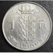 1 франк  1972 год . Бельгия