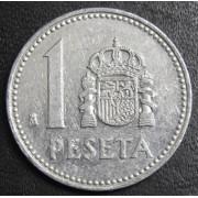 1 песета 1984 год . Испания