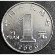 1 юань  2009 год . Китай