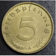 5 рейхспфеннигов 1938 год (А) . Германия