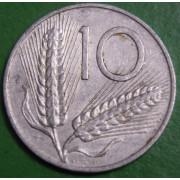 10 лир 1954 год Италия