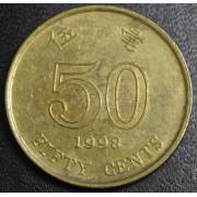 50 центов  1998 год Гонконг