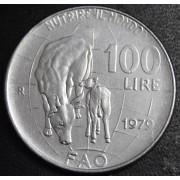 100 лир 1979 год  Италия. ФАО