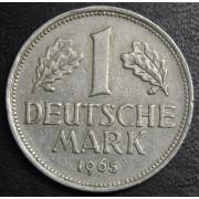 1 марка 1965 год Германия (ФРГ)