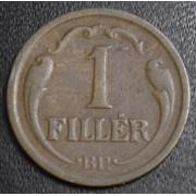 1 филлер 1936 год  Венгрия