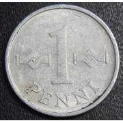 1 пенни  1972 год Финляндия