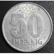 50 пфеннигов 1986 год .ГДР