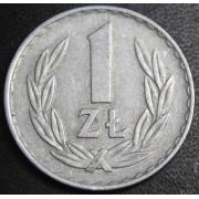 1 злотый 1974  год  Польша