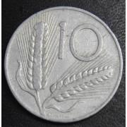 10 лир 1955 год Италия