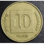 10 агорот 1986 год  Израиль
