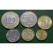Набор монет Казахстан  2019  год