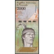 2000  боливаров 2016 год  Венесуэла
