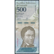500  боливаров 2017 год  Венесуэла