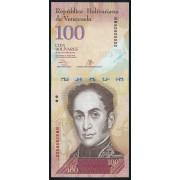 100  боливаров 2013 год  Венесуэла