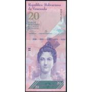 20  боливаров 2013 год  Венесуэла