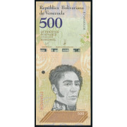 500  боливаров 2018 год  Венесуэла