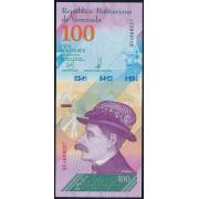 100  боливаров 2018 год  Венесуэла