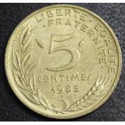 5 сантимов 1985 год  Франция