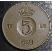 5 эре 1955  год . Швеция