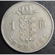 1 франк  1960 год  Бельгия