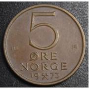 5 эре 1973 год Норвегия