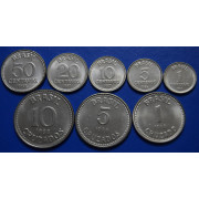 Набор монет  Бразилия 1986-1988 г.г