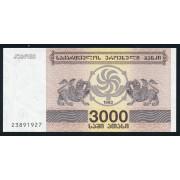 3000  купонов  1993 год . Грузия