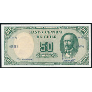 50 песо 1960 год . Чили