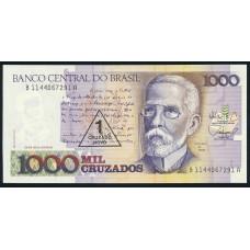 1 новый крузадо 1989 на 1000 крузадо 1987-88 год .Бразилия в интернет магазине Монетабум