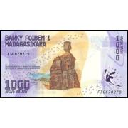 1000 ариари 2017 год.Мадагаскар