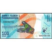 100 ариари 2017  год.Мадагаскар