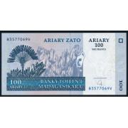 100 ариари 2004 год.Мадагаскар