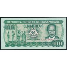 100 метикал  1983 год . Мозамбик
