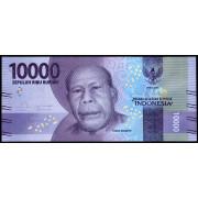 10000  рупий  2016 год . Индонезия