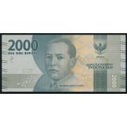 2000  рупий  2016 год . Индонезия