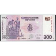 200 франков  2013 год . Конго