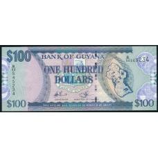 100 долларов 2012 год . Гайана
