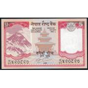 5 рупий 2010 год . Непал