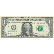 1 доллар 2009 год . США
