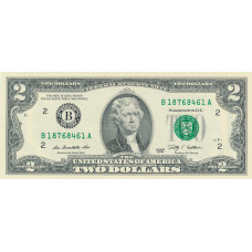 2 доллар 2009 год . США