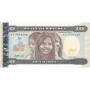 10 накфа 1997 год . Эритрея