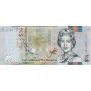 1/2  доллара 2019 год . Багамские острова