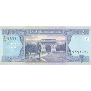2 афгани 2002 год. Афганистан