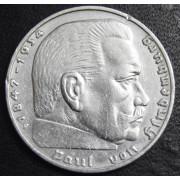 2 марки 1938 год. Пауль фон Гинденбург