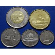 Набор монет  Канада  2018 год